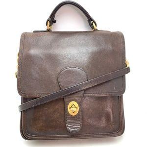 COACH Vintage STATION Bag Purse Satchel E61-5130